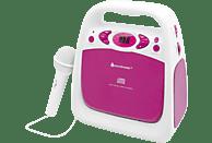 SOUNDMASTER KCD 50 PI CD-Radio Pink/Weiß