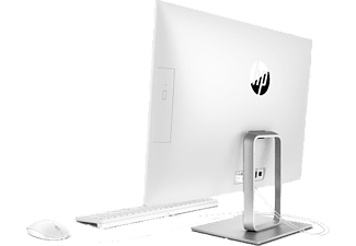HP Pavilion All-in-One – 24-r002ng, All-in-One-PC  mit 23,8 Zoll Display, Intel® Core™ i3 Prozessor, 8 GB RAM, 1 TB HDD, Intel® HD-Grafik 630, Weiß
