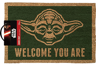 Star Wars Fussmatte Kokos Motiv Yoda Welcome you are