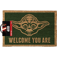 Star Wars Fussmatte Kokos Motiv Yoda Welcome you are