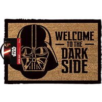 Star Wars Fussmatte Kokos Motiv Welcome to the dark side