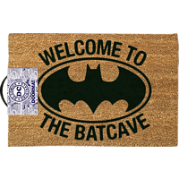 EMPIRE Batman DC Comics Fussmatte Kokos Motiv Welcome to the Batcave Fussmatte, Mehrfarbig