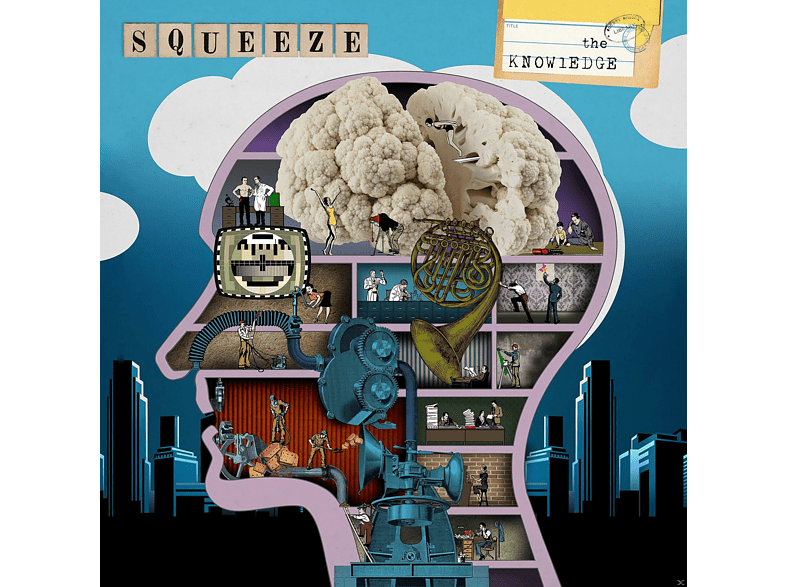 Squeeze - The Knowledge [CD]