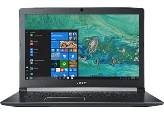 ACER Aspire 5 (A517-51-59V5), Notebook mit 17.3 Zoll Display, Core™ i5 Prozessor, 8 GB RAM, 1 TB HDD, Intel® HD-Grafik 620, Schwarz