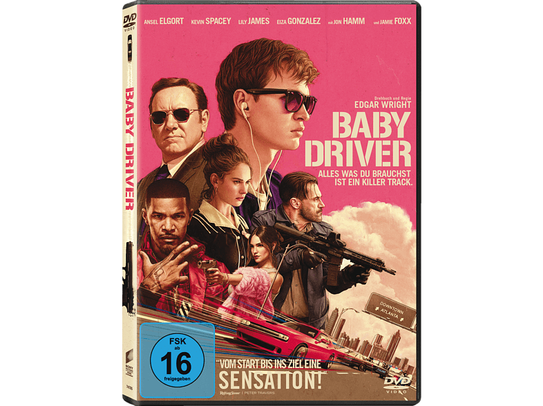 Baby Driver [DVD]