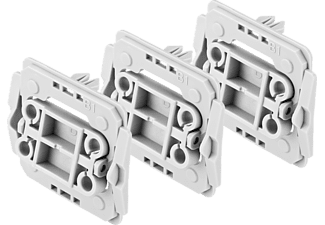 BOSCH 8750000422  Adapter 3er-Set Berker (B1), Weiß
