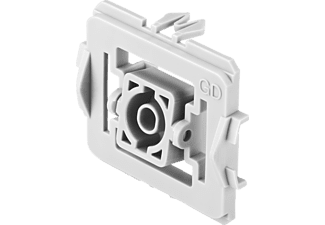 BOSCH 8750000453 Adapter 3er-Set Gira Standard, Weiß