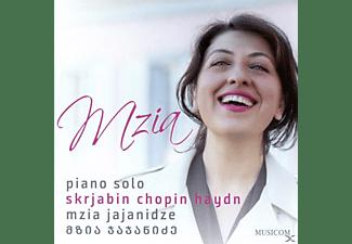 Mzia Jajanidze - Piano Solo  - (CD)