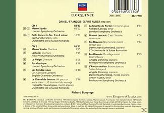 Bonynge/Silberstein/Tourangeau/Conrad/Sutherland/+ - Arien und Orchesterwerke  - (CD)