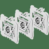 BOSCH 8750000412 Adapter 3er-Set Gira 55 (G), Weiß
