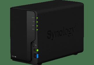 SYNOLOGY DiskStation DS218+ NAS 3,5 Zoll Anzahl Festplattenschächte: 2 Schwarz}
