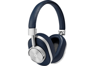 MASTER & DYNAMIC MW60, Over-ear Kopfhörer Bluetooth Navy/Silber