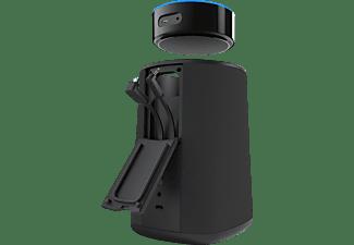 NINETY7 VAUX tragbarer Lautsprecher für Amazon Echo Dot Tragbarer Lautsprecher Für Amazon Echo Dot, Schwarz