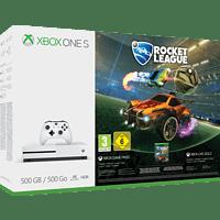 MICROSOFT Xbox One S 500GB Konsole - Rocket League Bundle