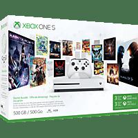 MICROSOFT Xbox One S 500GB Konsole - Starter Bundle