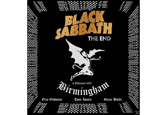 Black Sabbath - The End (3CD+DVD+Bluray,Ltd.Super Deluxe Edt.) - (CD + Blu-ray + DVD)