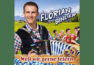 Florian Binder - Weil wir gerne feiern  - (CD)