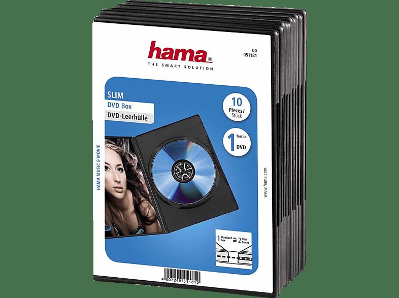 HAMA Slim DVD-Leerhüllen