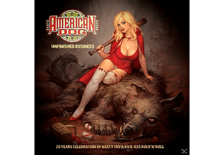 American Dog - Unfinished Business  - (CD)
