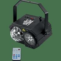 EUROLITE LED Mini FE-4  Flower Laser-Lichteffekt Mehrfarbig