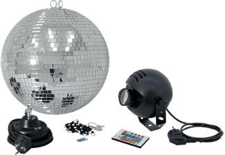 EUROLITE 50101862 Discokugel LED-Lichteffekt Mehrfarbig