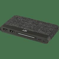 ISY IAP-5000-BK Powerbank 10.000 mAh Schwarz