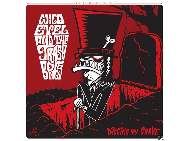 Wild Evel And The Trashbones - Digging My Grave [CD]