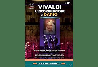 Dantone/Allemano/Min - L'Incoronazione di Dario  - (DVD)