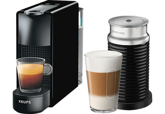 KRUPS Nespresso Kaffeemaschine Essenza Mini + Milk XN 1118