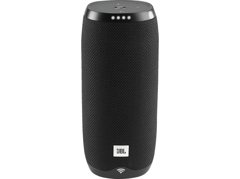 JBL Link 20 Smart Speaker mit Sprachsteuerung, Schwarz, Wasserfest