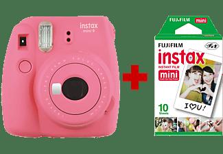 FUJI Instax Mini 9 Flamingo Pink + 10 films