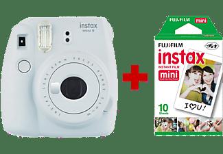 FUJI Instax mini 9 Smoky White + 10 films