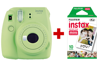 FUJI Instax mini 9 Lime Green + 10 films