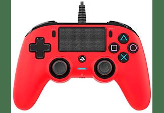 Mando - Nacon, PS4 Controller, con cable, Rojo
