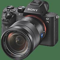 SONY Alpha 7 M2 Zeiss Kit (ILCE-7M2) Systemkamera 24.3 Megapixel mit Objektiv 24-70 mm , 7.6 cm Display  , WLAN