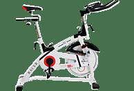 CHRISTOPEIT Racer Bike XL 2 weiß Heimtrainer, Weiß/Schwarz