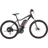 FISCHER - FAHRRAD EM 1608-S1 Mountainbike (27,5 Zoll, 48 cm, MTB, 418 Wh, Schwarz matt)