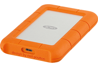 Disco duro 2 TB - Lacie Rugged, USB-C 3,0