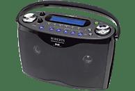 ROBERTS EcoLogic 7 Radio (schwarz)