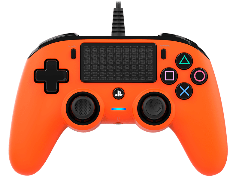 NACON Compact Controller bedraad PS4 Oranje (PS4OFCPADORANGE)