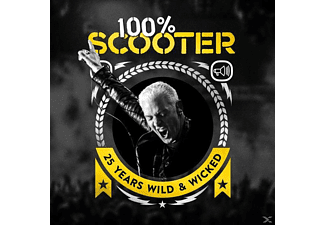 Scooter - 100% Scooter - 25 Years Wild & Wicked (Ltd.5CD-Digipak)  - (CD)