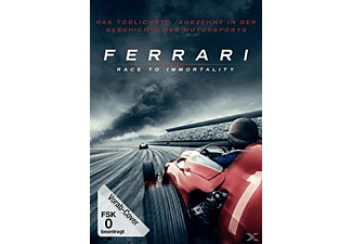 Ferrari - Race To Immortality DVD