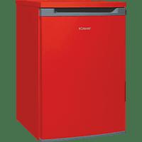 BOMANN VS 354 Kühlschrank (88 kWh/Jahr, A++, 860 mm hoch, Rot)