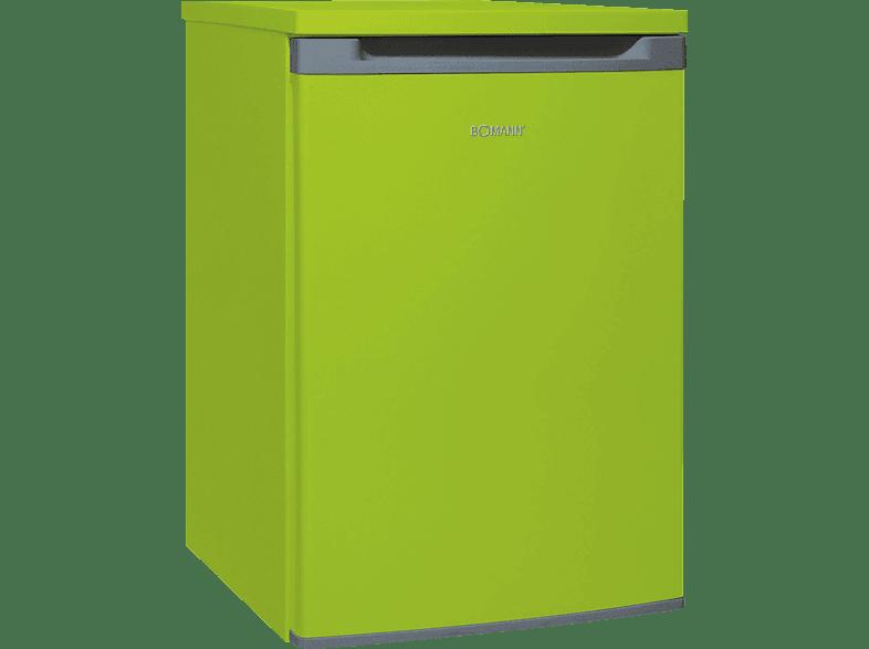 BOMANN VS 354  Kühlschrank (A++, 88 kWh/Jahr, 860 mm hoch, Grün)