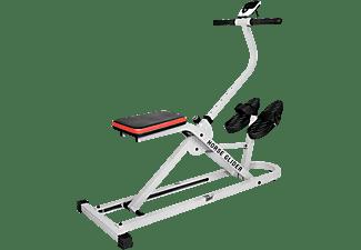 CHRISTOPEIT Horse Glider Heimtrainer, Weiß/Schwarz