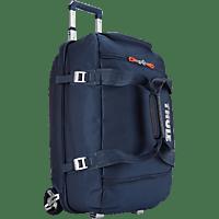 THULE Crossover Rolling Duffel Reisetasche, Trolley, Blau