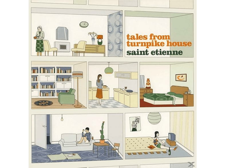 Saint Etienne - Tales From Turnpike House [LP + Download]