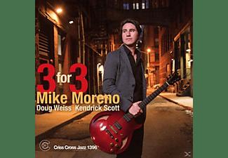 Mike Moreno, Kendrick Scott, Doug Weiss - Three For Three  - (CD)