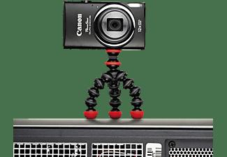 JOBY Gorillapod Magnetic Mini Dreibein Stativ, Schwarz/Rot