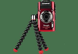 JOBY Gorillapod Magnetic 325 Dreibein Stativ, Schwarz/Rot/Grau